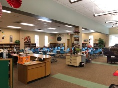 Eagle Ridge Library: New Flexible Furniture